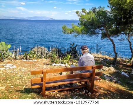 Man Person Sitting Bench Images And Stock Photos Avopix Com