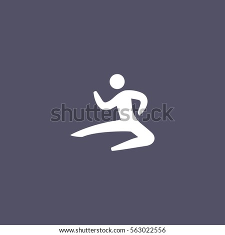 Person throwing a punch icon