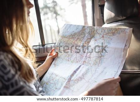Person Traveler Travel Destination Concept #497787814