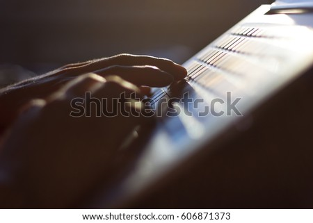 Person using a laptop