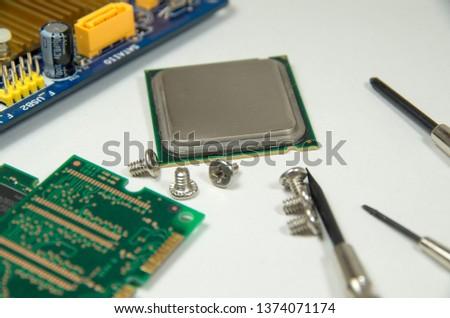 Personal computer parts. #1374071174