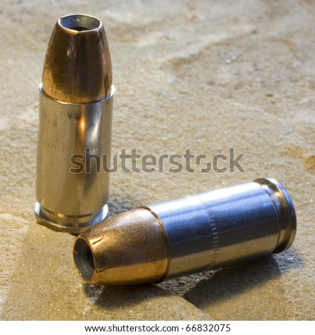 personal protection bullets for a 9 mm handgun