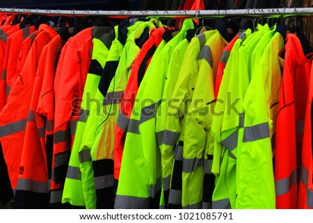 personal protective equipment and rain jackets #1021085791