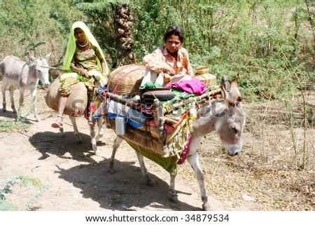 http://image.shutterstock.com/display_pic_with_logo/174574/174574,1249451266,1/stock-photo-personal-transport-home-on-donkey-34879534.jpg