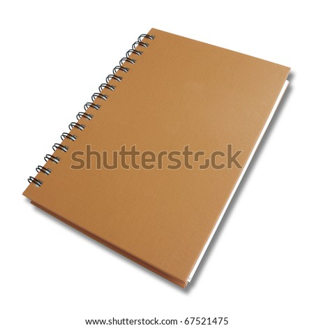 perspective brown note book