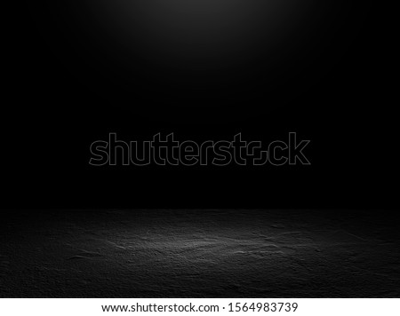 perspective cement floor or concrete room studio for interior display products and web page . room gradient background