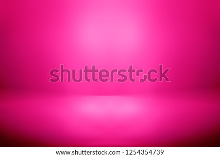 perspective floor backdrop pink room studio with pink gradient spotlight backdrop background for display your product or artwork