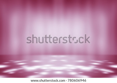 perspective floor backdrop purple room studio with pink gradient spotlight backdrop background for display your product or artwork