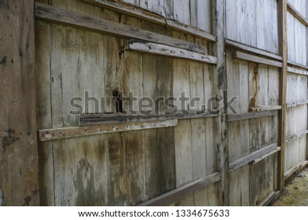 perspective of a wooden house #1334675633