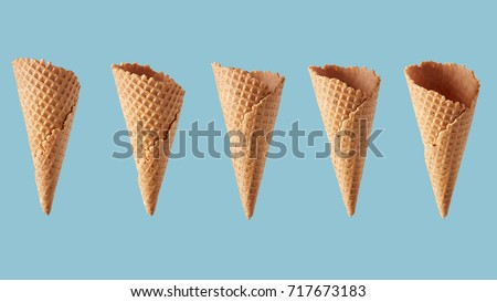 perspectives of wafer sugar cone