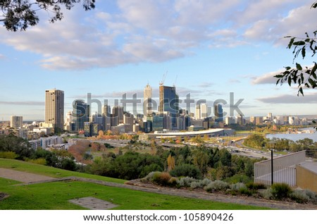 Perth Skyline from King's Park