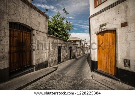 Peru Arequipa San Lazaro #1228225384