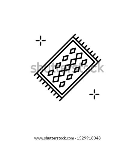 Peru carpet icon. Element of Peru icon