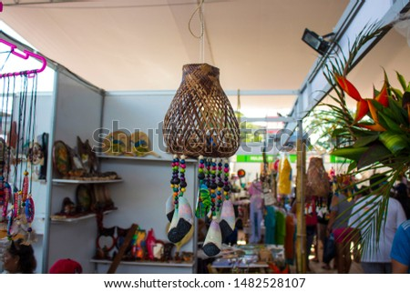 Peruvian Amazonian handicrafts, made by natives of the different basins of the Loreto region #1482528107