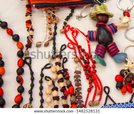 Peruvian Amazonian handicrafts, made by natives of the different basins of the Loreto region #1482528131