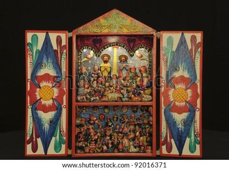 Peruvian Retablo handicraft