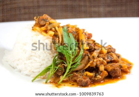 Shutterstock Peruvian traditional food with olluco
