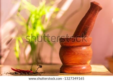 pestle and mortar #1327349165