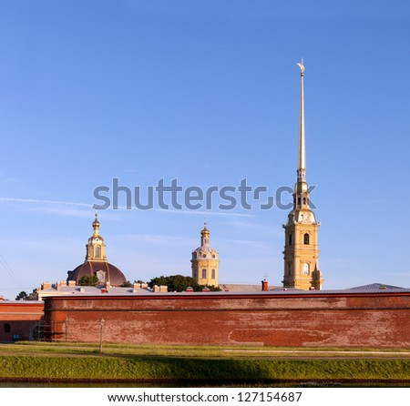 Peter and Paul fortress Russia, St. Petersburg