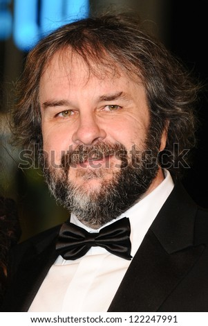 "Peter Jackson arriving for the premiere of ""The Hobbit: An Unexpected Journey"" at the Odeon Leicester Square, London. 12/12/2012 Picture by: Steve Vas"