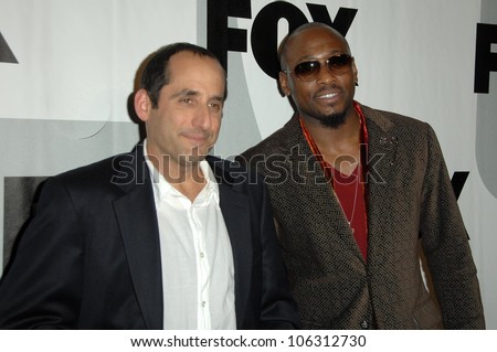 Peter Jacobson and Omar Epps  at the FOX Winter All-Star Party. My House, Los Angeles, CA. 01-13-09