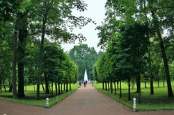 Petergof or Peterhof, is a municipal town in Petrodvortsovy District of the federal city of St. Petersburg, located on the southern shore of the Gulf of Finland.