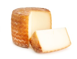 Petit Basque, French cheese from the Basque Country region