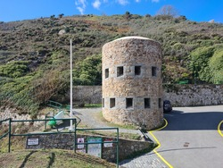 Petit Bot Bay Loophole Tower no 13, Guernsey Channel Islands
