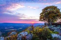 Petit Jean Mountain State Park in ARkansas state of US.