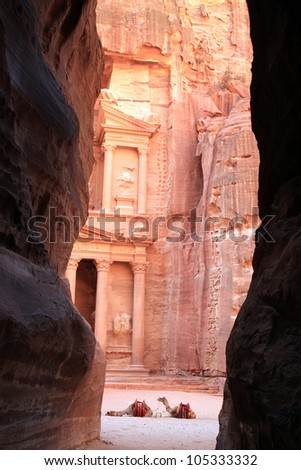 Petra. - stock photo