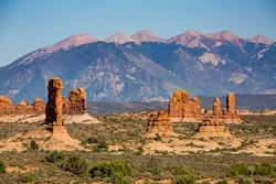Petrified Dunes the Arches National Park, Utah, USA