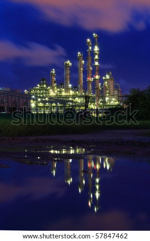 Petrochemical industry during twilight