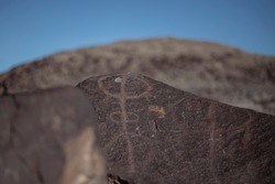 Petroglyph in Grimes Point, Nevada