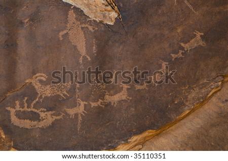 petroglyph moab utah