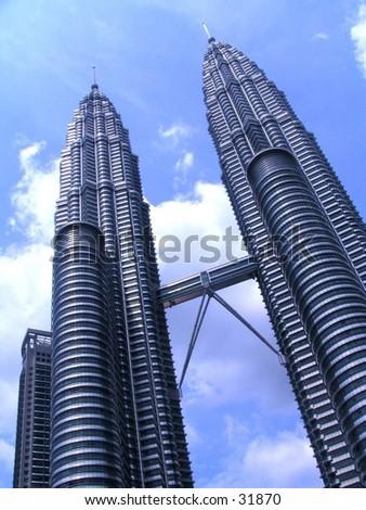 Petronas Twin Towers in Kuala Lumpur Malaysia