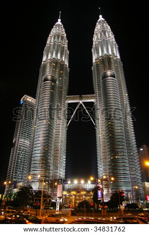 Petronas twin towers tallest building in asia kuala for Asia famous buildings