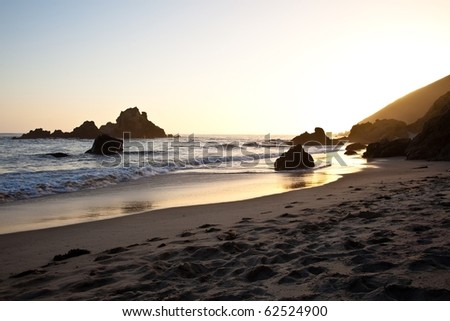 Pfeiffer Beach in Big Sur is an incredibly scenic beach.