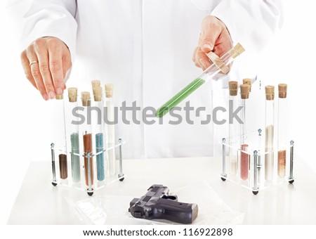 Pharmaceutical laboratory - stock photo