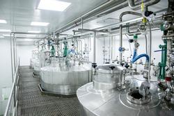 pharmaceutical production of liquid pharmaceuticals