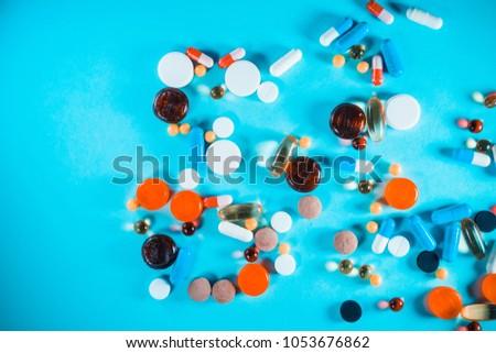 Pharmacology medicine background #1053676862