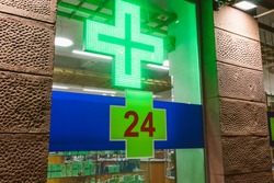 Pharmacy Cross 24 Hours Of Medication Helps Symptoms pills