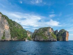 Phi Phi Island. Nature Landscape, nature landscape, nature, landscape, stone nature, stone landscape.