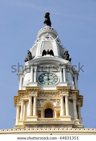 Philadelphia City Hall Watch Tower