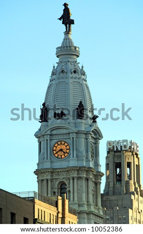 "Philadelphia City Hall ""William Penn building"
