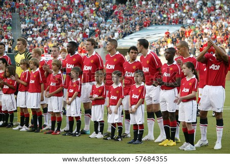 Match Line up United Team Line up During