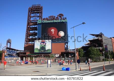 PHILADELPHIA - SEPTEMBER 7:  Citizens Bank Park, home of the National League's Phillies, on September 7, 2010 in Philadelphia. This baseball only stadium opened in 2004, replacing Veterans Stadium.