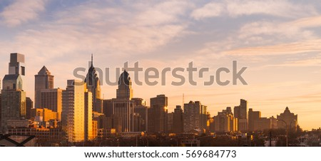 Philadelphia skyline #569684773