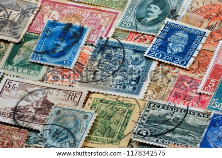 Philately is the field of collecting and studying the history of national postage stamps . The fee for sending items by mail. #1178342575