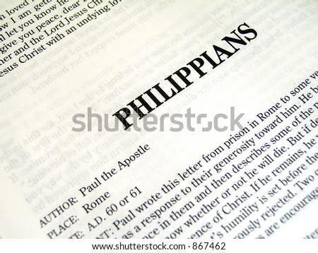 bible book of philippians