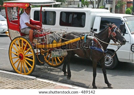 philippine horse drawn carriage